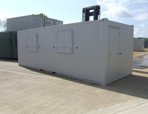 24ft x 9ft anti vandal canteen