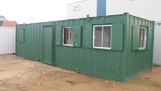 32ft x 10ft Weighbridge office, toilet, canteen