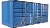 20ft open side container