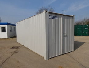 21ft x 8ft steel secure store