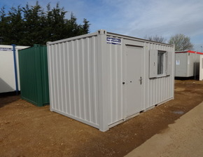 16ft x 8ft av canteen unit
