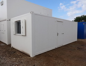 24ft x 10ft steel office unit