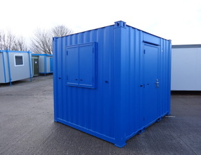 10ft x 8ft steel office unit
