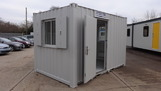 12ft x 8ft anti vandal canteen unit