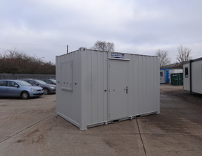 12ft x 8ft av office unit