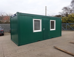 New 20ft x 8ft steel office unit