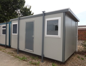 16ft x 10ft Plastisol office