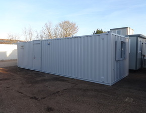 32ft x 10ft Open plan canteen