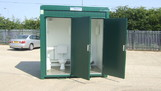 8ft x 5ft New Double Mains Toilet Unit