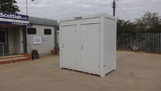8ft x 5ft New Mains Toilet Unit