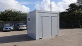 10ft x 8ft New 1+1 + urinal Toilet unit