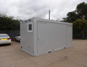 16ft x 8ft Double shower changing room