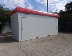 New 20ft x 8ft 2+2 Toilet Unit