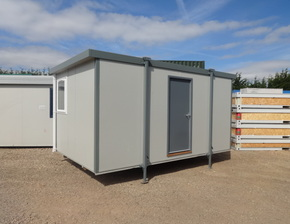 16ft x 9ft Plastisol office