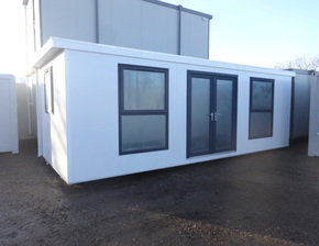 24ft x 10ft sales office