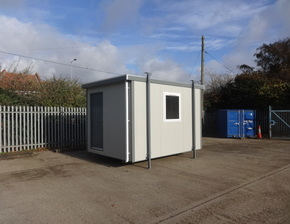 12ft x 9ft Portable office