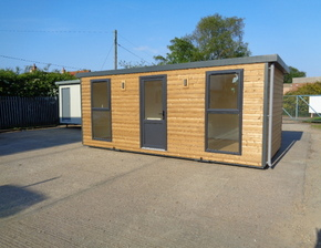 20ft x 10ft Portable Timber Office