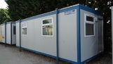 24ft x 10ft canteen Toilet Unit