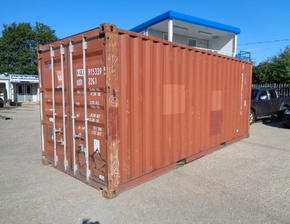 20ft x 8ft x 8ft secondhand steel stores