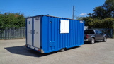 16ft 10 man Mobile Welfare Unit