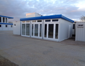 New 24ft x 20ft sales office