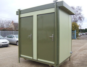 8ft x 6ft New mains Executive toilet unit
