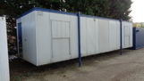 32ft x 10ft Plastisol office unit