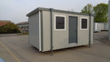 16ft x 10ft plastisol canteen unit