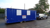 24ft Anglocabin Welfare unit