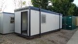 24ft x 8ft Plastisol office