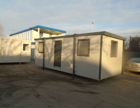 24ft x 10ft Plastisol Executive Office Unit