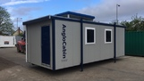 24ft x 10ft Portable canteen toilet