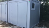 10ft x 8ft Twin shower unit
